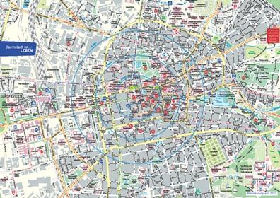 Stadtplan Darmstadt Vorschaubild